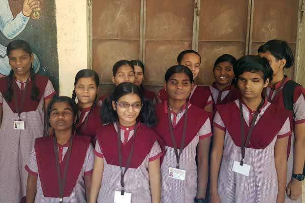NFBM Jagriti School for blind girls scores 100%results in the SSC Board Exam