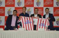 ATK presents new coach Sheringham with technical director Westwood for 4th season of ISL 2017