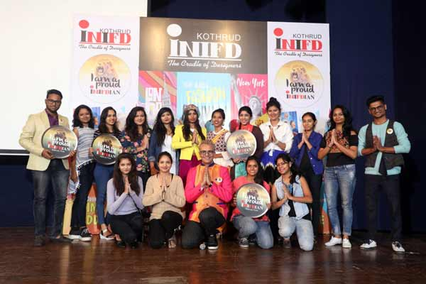 BIGG BOSS & MTV FAME IMAM SIDDIQUE AT INIFD PUNE, KOTHRUD and KOREGOAN PARK
