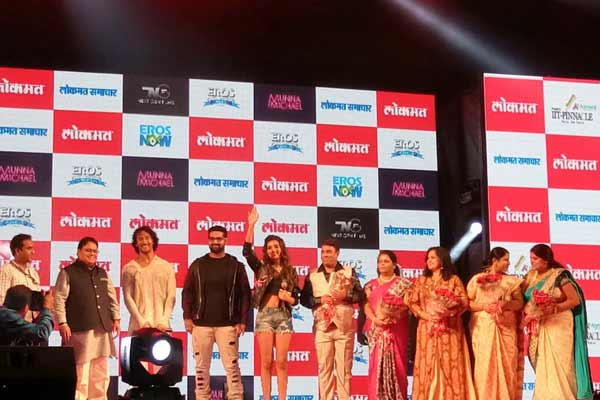 Tiger Shroff Launches 'Beparwah' Song from upcoming movie Munna Michael in Nagpur