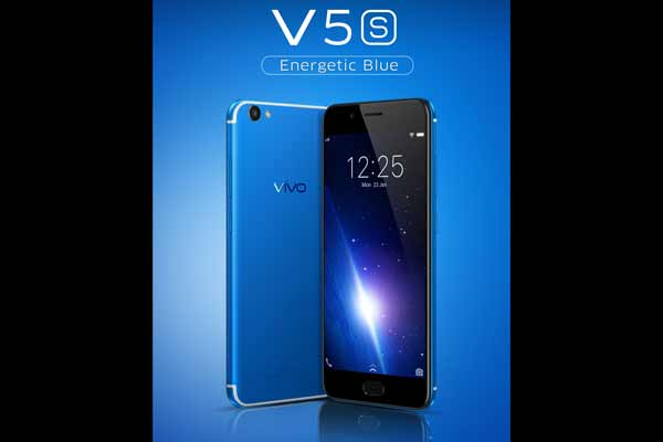Vivo Charms Smartphone Lovers with The Vivo V5s Energetic Blue Color Variant