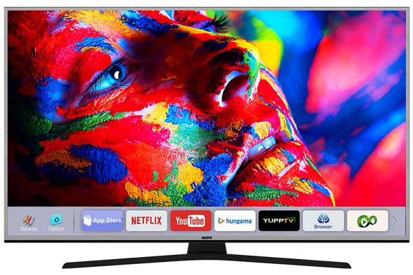 Sanyo launches its first 4K Smart TV models for better viewing experience