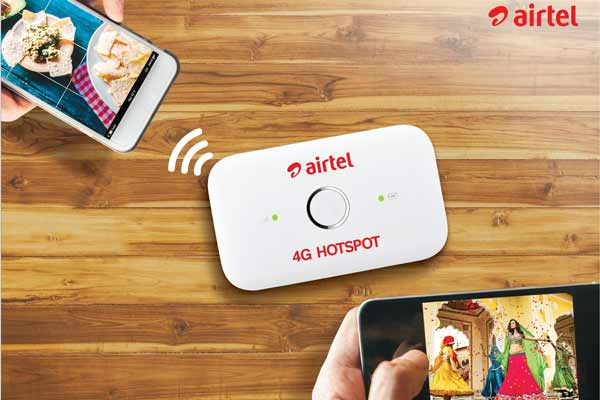 Airtel slashes 4G Hotspot price to Rs. 999