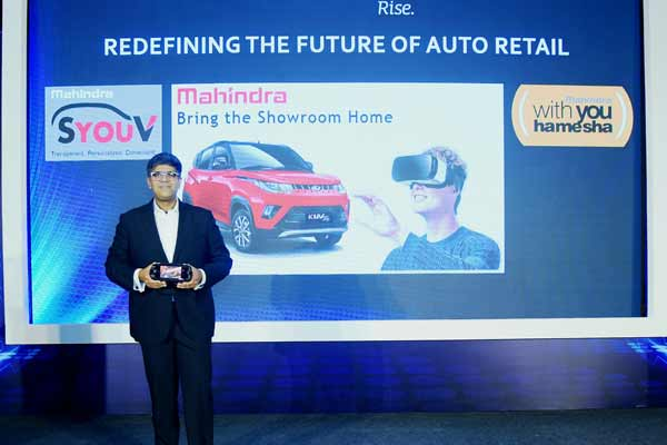 Mahindra Brings an Industry First Transformation in Automotive Retail