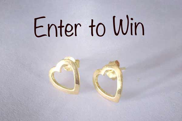 Modasutra's Valentines Day Contest – win Heart Earrings!