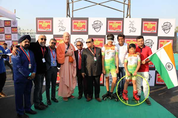 JASH SARODE & JEET TRIVEDI  SKATE INTO THE GOLDEN BOOK OF WORLD RECORD