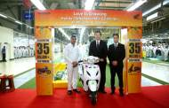 Honda's historic 35th Million two-wheeler Milestone in India