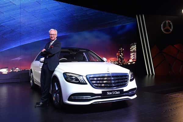 Mercedes-Benz keeps leading the luxury auto industry in India; launches India's first 'BS VI compliant– Made in India, for India' S-Class