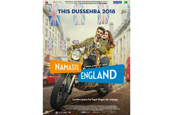 Sony Music acquires the music rights to Vipul Amritlal Shah's Namaste England starring Arjun Kapoor and Parineeti Chopra