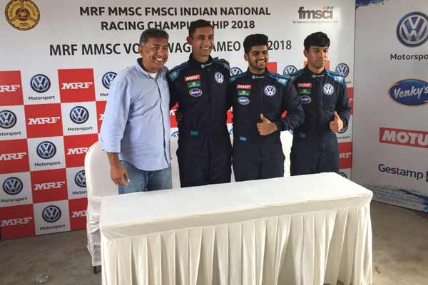 Dhruv Mohite wins the first race of the 2018 season after tough battle with Jeet Jhabakh
