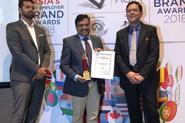 Amway India wins two prestigious awards at the 9th edition of Asia's Best Employer Brand Awards 2018