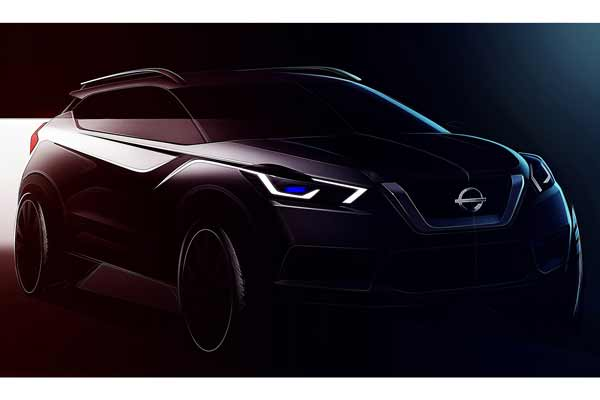 First Glimpse of the All-New Nissan KICKS