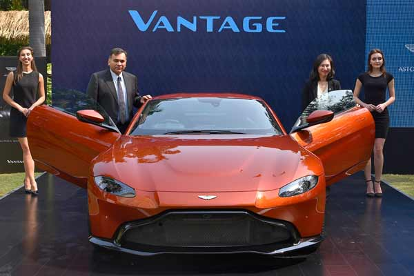 ASTON MARTIN NEW DELHI UNVEILS THE SUCCESSOR TO A TRUE SPORTING DYNASTY - THE NEW VANTAGE