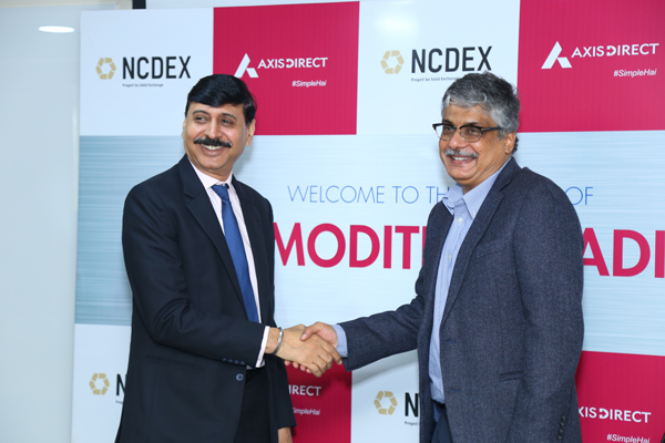 Axis Securities introduces trading in NCDEX Commodity Derivatives