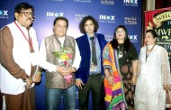 Anup Jalota,Pandit Suvashit Raj, RJ Rahat Jafri attended screening of films at 1st Moonwhite Films International Film Fest 2018 at Inox Metro.