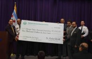 Pakistani Physician society(PPS)donated Huge amount for bulletproof vest to The Chicago Police Memorial Foundation.