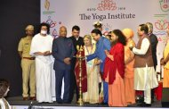 President Kovind pays glowing tribute to The Yoga Institute, says Yoga can unite people, communities, nations