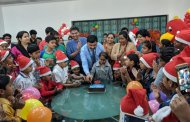 Christmas &New Year celebrations for Pediatric Cancer & Thalassemia Patients at Ruby Hall Clinic.