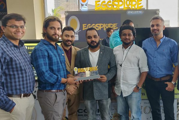 Samad Fallah launches Eggsplore's newest outlet at Seasons Mall, Pune