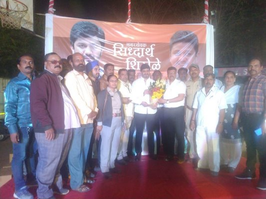 Corporator Siddharth Shirole Felicitates 200 Sanitary Workers