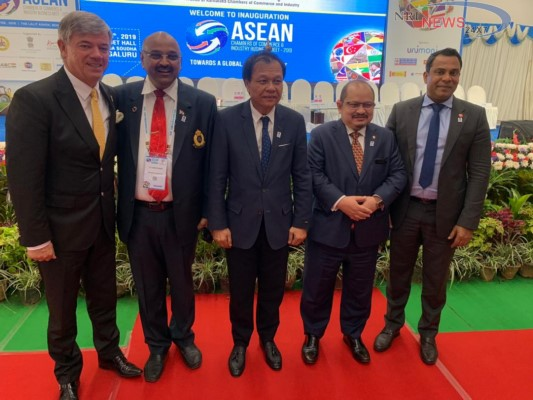 Deputy Minister of Primary Industries Malaysia addresses ASEAN Chamber of Commerce & Industry Business Meet- 2019