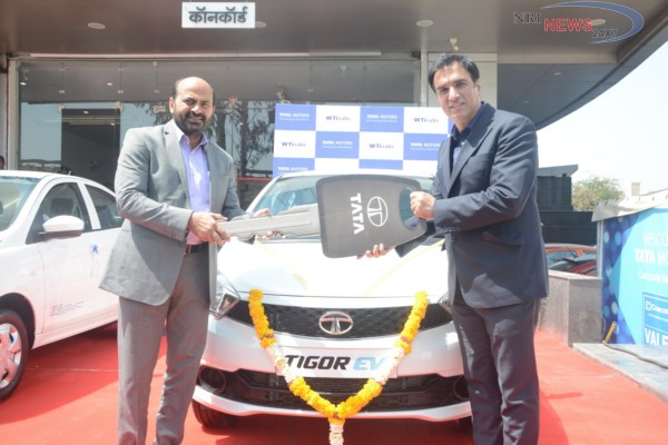 Tata Motors signs an MoU with Wise Travel India to supply Tigor EVs in Pune