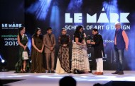 MARQUEE 2019 A scintillating presentation by the graduating students of LE Mark School Of Art & Design Theme 2019- planet @ fashion.in