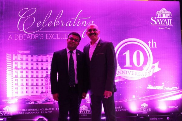 A Celebration of the Decade! Sayaji Hotel Pune celebrates its 10th Anniversary.