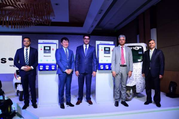 Panasonic launches first of its kind EV charging service for India