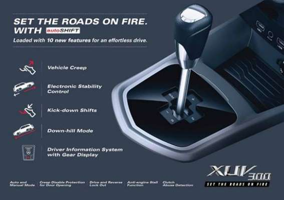 Mahindra launches innovative new Automated Manual Transmission (AMT) in XUV300