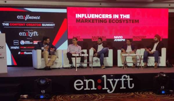 """INDIA'S TOP INFLUENCERS AND BRANDS UNITE AT ENLYFT NETWORK'S """"EN:FLUENCE - THE CREATOR SUMMIT…"""""""