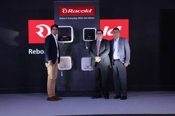 Racold redefines the water heater category with 'Omnis'&'Aures'