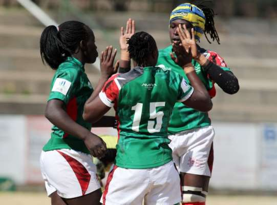 Women's Rugby World Cup African Qualifiers: Kenya defeated Uganda on Tuesday in Johannesburg during the Rugby Africa Women's Cup
