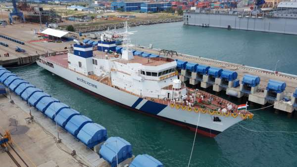 L&T Launches 60th Vessel for Ministry of Defence