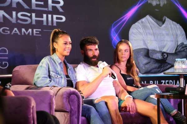 Spartan Poker raised the stakes with Dan Bilzerian at the India Poker Championship 2019