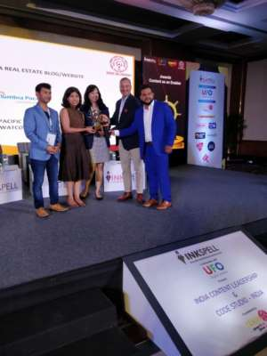 Columbia Pacific Communities wins Gold for Best Website Content in Real Estate at the India Content Leadership Awards 2019