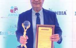 Dr. B S Avasthi awarded as the