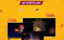 RCA TV offers never before prices (up to 61% off) on its smart TVs for Diwali