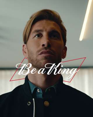 "Budweiser 0.0 Celebrates Global Football Champion Sergio Ramo's Rise to Greatness in latest ""Be A King"" Campaign"