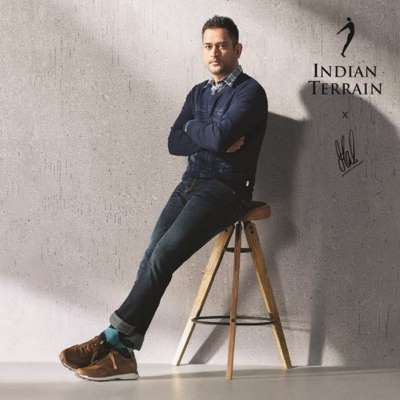 Indian Terrain launches 'The Spirit of Man' campaign with Brand Ambassador Mahendra Singh Dhoni