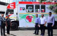 Cummins India flags off India's first mobile training fleet on BS-VI technology