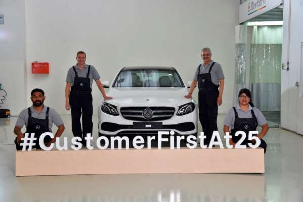 The Three-Pointed Star shines with 25 aftersales initiatives as it completes 25 years in India