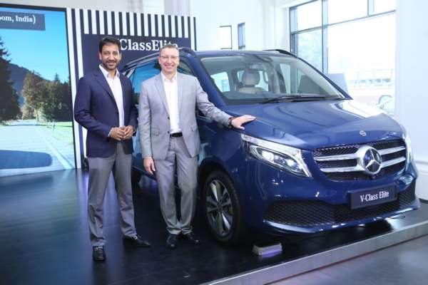 Mercedes-Benz India, pioneers of the 'Luxury Multi- Purpose Vehicle', launch the new V-Class Elite