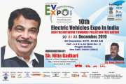 "Eco-Friendly Electric Vehicles Exhibition ""10th EVExpo 2019"" will be held from 20th December"