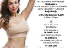 Malaika Arora joins hands with USA Pears to advocate for #pearcare