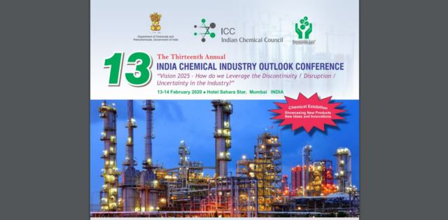 13th Annual India Chemical Industry Outlook Conference 2020 to focus on 'Leveraging Uncertainty & Disruption'