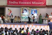 An Awards Ceremony for the little artists of Maharashtra at Sadhu Vaswani Mission, Pune