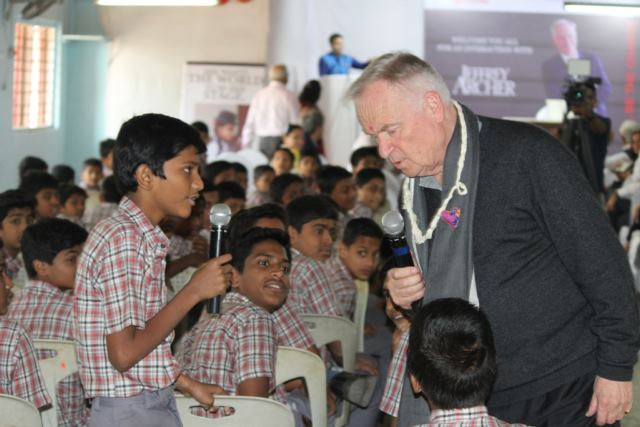 Here's what makes Lord Jeffrey Archer a great social champion & an admirer of India