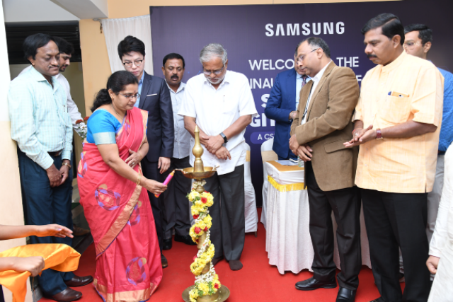 Samsung Digital Library Launched for 100 Govt Schools in Partnership With Government of Karnataka