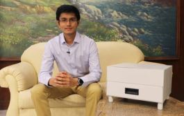Punekar Youth Anand develops an effective solution to sanitize all household objects